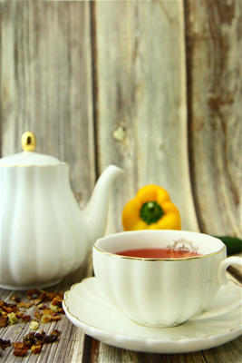 冰釀天堂果蔬茶 (熱) <br>[ Natural Fruit Vege Melange Tea ]